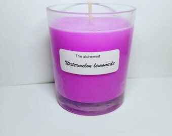 soy wax ( watermelon lemonade ) candle