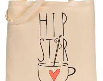 Hipster Love Tote