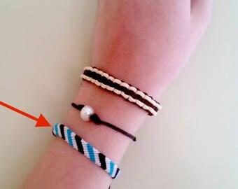Candy Stripe Bracelet/Anklet
