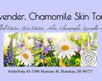Lavender Chamomile Skin Toner