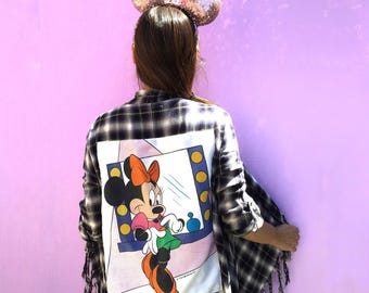 Backstage Minnie Mouse Fringe Wrap