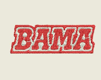 Alabama Football Crimson Tide Roll Tide machine embroidery design
