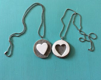 BFF Oreo necklace