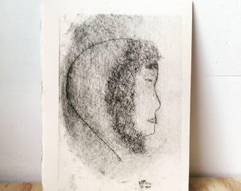 Aputika - Print - woodblock rhenalon
