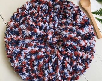 Country mock  cable   Beanie hat