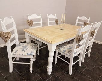 Beautiful french style Table and chairs