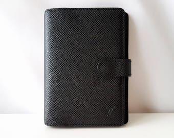 Louis Vuitton agenda, Louis Vuitton wallet, LV agenda, Louis Vuitton organizer, LV planner, Vuitton agenda, authentic Louis Vuitton