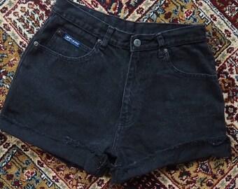 RT high waisted denim shorts