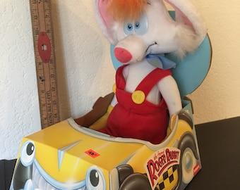 Vintage Who Framed Roger Rabbit Plush doll still in box