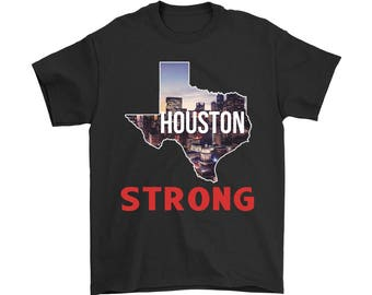 Men's T Shirt Houston Strong - Support for Houston Texas Strong T-Shirt