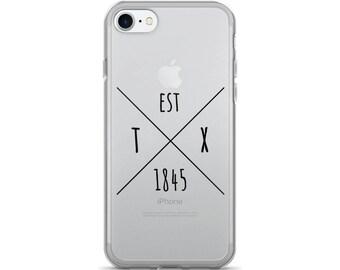 Texas Statehood - iPhone Case (iPhone 7/7 Plus, iPhone 8/8 Plus, iPhone X)