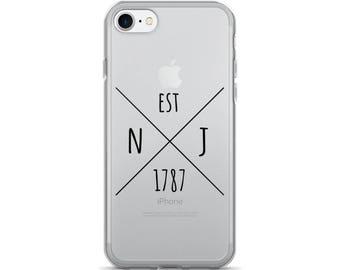 New Jersey Statehood - iPhone Case (iPhone 7/7 Plus, iPhone 8/8 Plus, iPhone X)