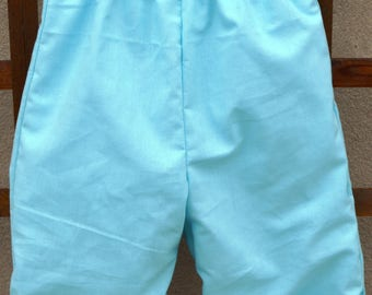 pants lined reversible T 6/12 months
