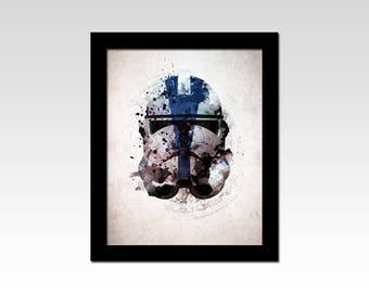 Star Wars inspired Appo Helmet abstract print