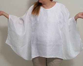 Eye Catching Handkerchief Linen Top