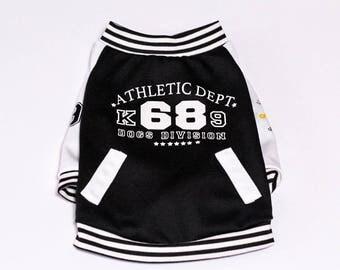 Letterman Jacket for dog -Medium Small (MS)