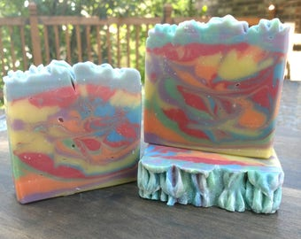Handmade Soap - Homemade Soap - Unicorn Dreams - Soap for Kids - Artisan - Luxury - Bridesmaid gifts for her - Birthday gift for her