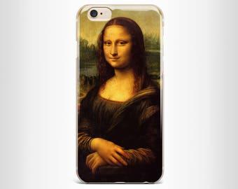 Mona Lisa IPhone 7 case iphone 7 plus case iPhone 6s plus case iPhone 6 plus case Iphone 6 case iphone 6s case  iPhone 5/5s case Clear Case