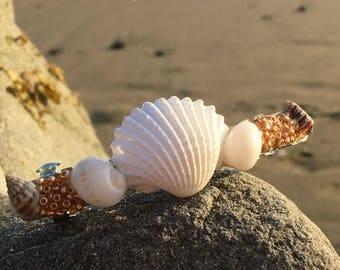 Shell barrette