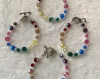 Chakra 7 in Crysal bracelet