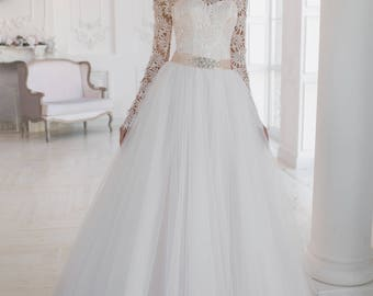 Wedding dress wedding dress bridal gown PIONIA
