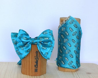 Bow tie set and scarf Tomeu