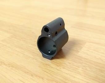 Adjustable Gas Block .750 Left Facing Set Screw Made in US .223, 5.56, 300 AAC