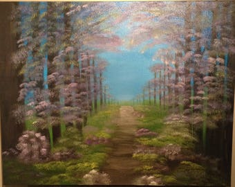 Safe Forest Passage oil painting