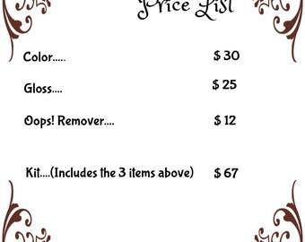 LipSense Price List