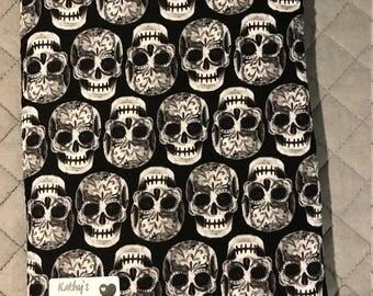 Skulls Book Sleeve - Large