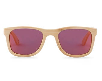 Wooden sunglasses - The Original Wayfarer - Red glasses