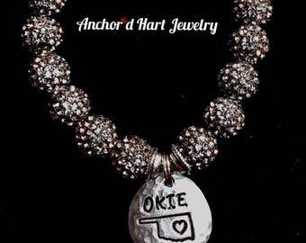 Okie Bling Bracelet