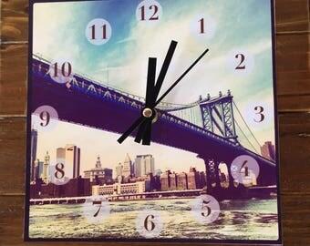 Manhattan Bridge Clock