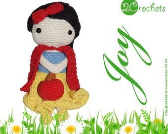 Joy - Amigurumi Doll Crochet Pattern
