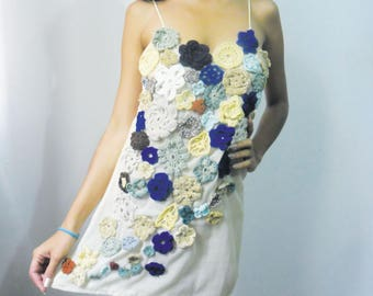 Crochet dress for lady