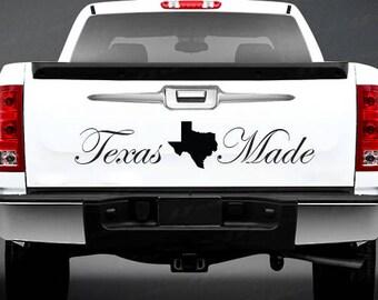 Texas Made Sticker