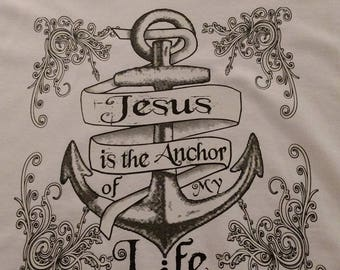 Jesus is my anchor T-shirt