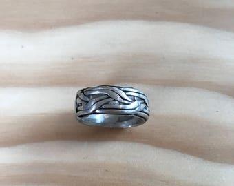 Celtic Braid Cuff Ring