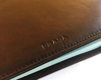 Authentic directory / Agenda phone Prada calf leather