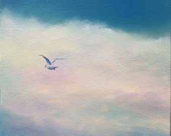 Original Skyscape Oil Painting