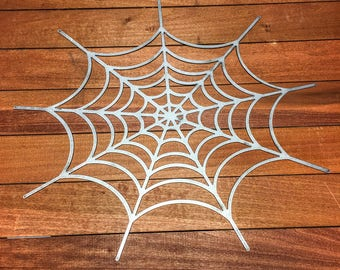 "16"" Spider Web metal decoration"