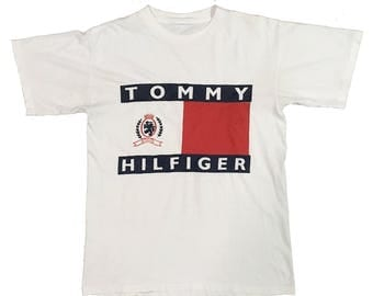 Vintage90s Tommy Hilfiger Bootleg FreeShipping.