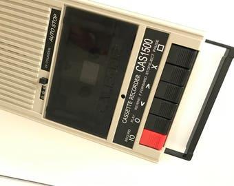 Califone cas1500 cassette recorder & player