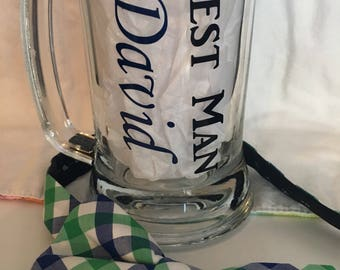 Groomsmen Steins//Father of the Bride/Groom Steins//Beer Steins
