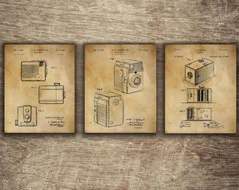 Camera Wall Decor | Camera Wall Print | Vintage Camera Decor | Camera Patent Art | Camera Patent Poster | Camera Patent INSTANT DOWNLOAD