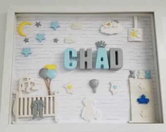 Custom showcase for nursery decor