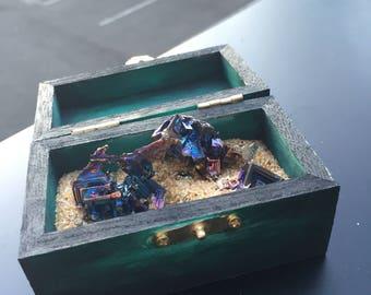 Bismuth Box (Green/Black)