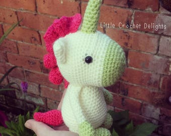 Amigurumi Magical Unicorn - Finished Product
