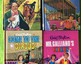 Enid Blytons Mr.Galliano's circus series complete set.