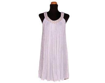 Dress With Double Tress Mini